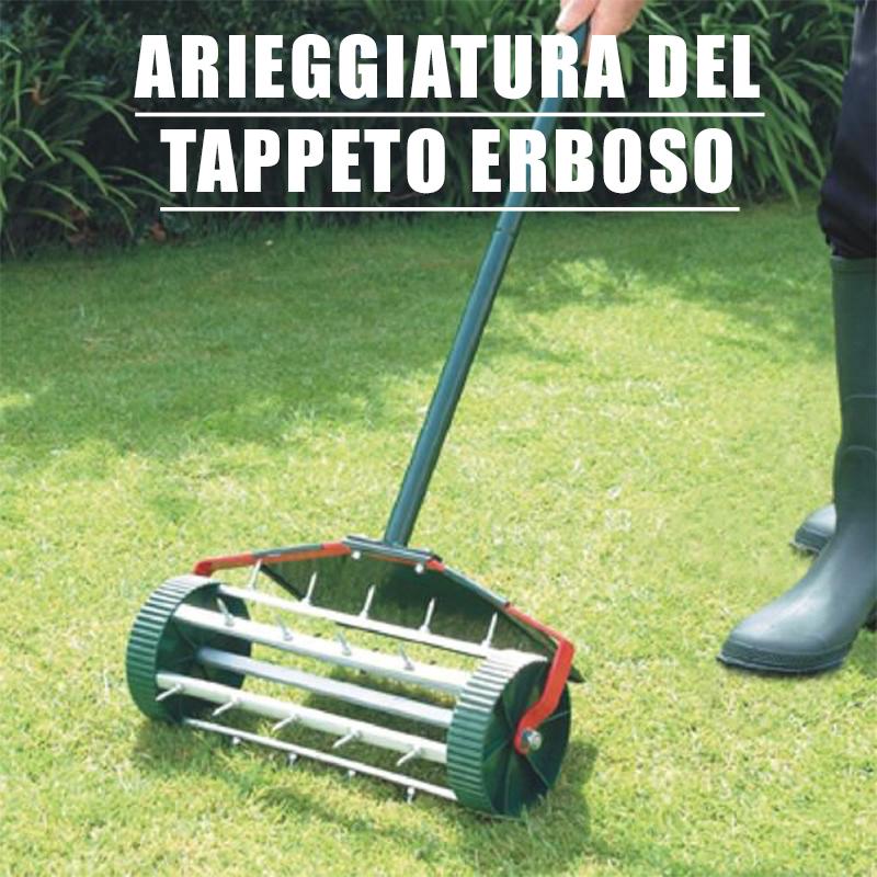 Arieggiatura del tappeto erboso